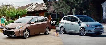 2015 Toyota Prius v vs 2015 Ford C-Max Hybrid
