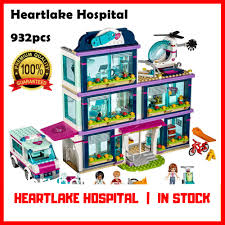 details about friends heartlake love hospital kids toys bricks diy girl gifts 932pcs building
