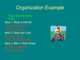 five elements of an expository essay ppt  organization example topic bicycle safety rules idea 1 wear a helmet