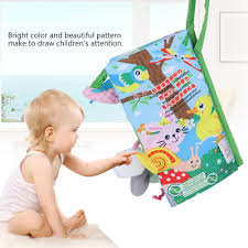 jollybaby cloth book 3d jungle tail toy early educational toy children kids garden