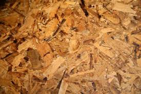 how to remove moisture in particle board