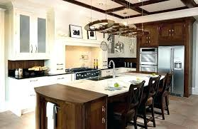 oak kitchen island breathtaking beautiful good looking panama solid rustic units uk