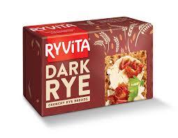 Dark Rye Crunchy Rye Breads Ryvita