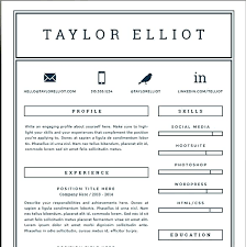 Resume Template Pages Magnificent Simple One Page Resume Template Pages For Cover Mmventuresco