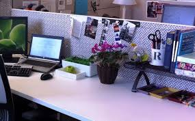 Office Simple Office Cubicle Decorating Ideas With Mural Wallpaper