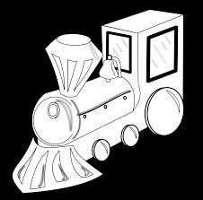 tren train colouring black white christmas xmas toy coloring book ...