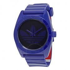 adidas santiago blue plastic men s watch adh2819 adidas adidas santiago blue plastic men s watch adh2819