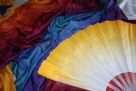 fan veils. how to assemble silk fan veils..interchangeable fans!! veils n