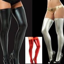 plus size thigh high socks qoo10 sexy lingerie stockings plus size thigh high socks shiny