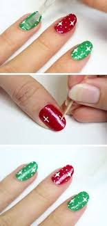 Art Designs Easy 24 Easy Winter Nail Art Ideas Diy Christmas Nail Designs
