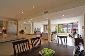 Open Plan Living Room Decorating Kitchen Dining And Living Room Design Delightful