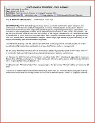Affirmative Action Plan 24 Affirmative Action Plan Sample Professional Scorpionade 17