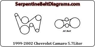 1999 2002 chevrolet camaro belt diagram 1999 2002 chevrolet camaro