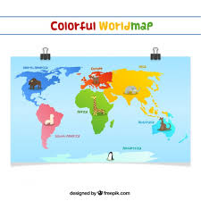 Continents Vectors Photos And Psd Files Free Download