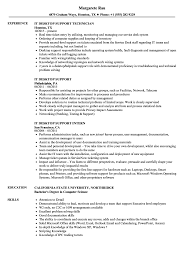 It Desktop Support Resume IT Desktop Support Resume Samples Velvet Jobs 18