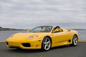 2002 Ferrari 360 Spider F1 - Silver Arrow Cars Ltd.