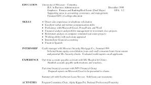 Example Of High School Resume College Application Resume Examples