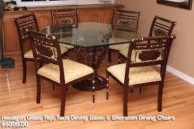 hexagonal extending dining table. dining table · hexagon set hexagonal extending