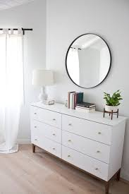 modern white dresser a west elm inspired ikea hack beautiful ikea closets convention perth contemporary bedroom