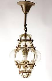 Blown Glass Pendant Lighting For Kitchen Vintage Blown Glass Lantern Or Bohemian Pendant Light Seguso