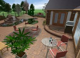 Small Picture Free 3D Landscape Design Software With Stone Floors Living Area
