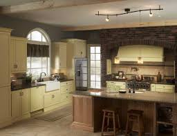 track lighting in kitchen. Amazing Kitchen Design With Cabinet And Island Also Track Lighting In :
