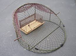 Bird Cage Trap Design Rst40 Round Shaped Trap For Trapping Kestrels And Shrikes Diameter 40 Cm