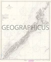 Details About 1950 U S Coast And Geodetic Survey Nautical Chart Of Palawan Philippines