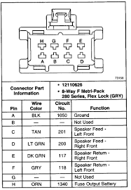 gmc envoy do you have wiring diagram for a bose system from graphic