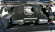 lincoln mark viii engine bay of a 1996 mark viii the 4 6l intech v8