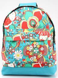 <b>Рюкзак Mi-Pac PREMIUM Floral</b> Sixties Floral 17л, Multi/Blue Mi ...