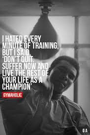 Training Quotes Simple Fitness Quotes I Hated Every Minute Of Training OMG Quotes