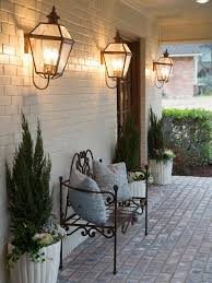 cottage style exterior lighting french country outdoor decorating ideas outdoor designs