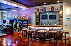 Home game room Arcade Home Game Room Arcade Mark Pinkerton Weekbyweekclub Game Room Decorating Ideas Lovetoknow