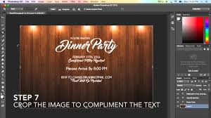 How To Design A Flyer In Photoshop Creating A Basic Flyer Using Photoshop Cc 2015
