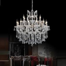 cwi lighting maria theresa 19 light chrome chandelier