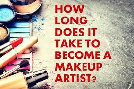 take to become a makeup artist