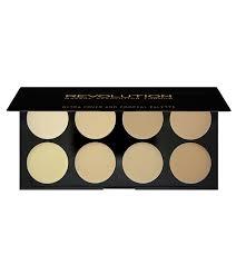 makeup revolution ultra cover and concealer palette light