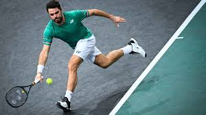 A slow motion view of stan wawrinka's serves, during his practice with tomas berdych at the 2014 rogers. Stan Wawrinka Hits 35 Winners Against Daniel Evans To Reach Paris Second Round Atp Tour Tennis