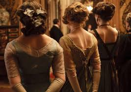 02downton1 master675 fngerwave 022615 downton abbey 0 crawley women always have their hair up