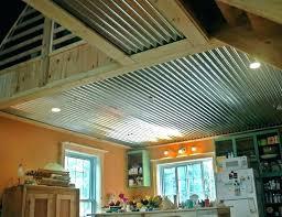 corrugated metal ceiling corrugated metal iling tiles panels ilings com sheet corrugated metal ceiling garage