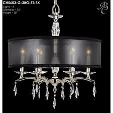 kaya 6 light drum chandelier finish old brass shade color crystal frost hardback