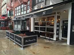 nyc glass metal roller garage door restaurant jpg