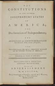 magna carta and the u s constitution magna carta muse and the constitutions of the several independent states of america the declaration of independence the articles of confederation between the said states