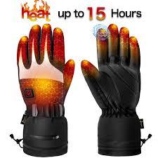 <b>Heated Gloves</b> for Men Women - <b>Electric Heating Gloves</b>, Heated ...