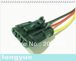 com buy longyue pcs universal pin female ket longyue 20pcs universal 3 pin female ket pigtail connector automotive wiring harness socket 15cm wire