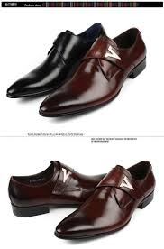 Mens Designer Dress Shoes Us 93 8 Italian Designer Formal Men Dress Shoes Genuine Leather Flat Shoes For Office Career Shoes Men Business Leather Shoes 203 521 In Mens