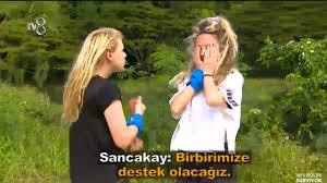 Acun Ilıcalı'nın sunduğu Survivor 2021'de dokunulmazlığı kaybeden  Gönüllüler takımından Sena ilk eleme adayı oldu!