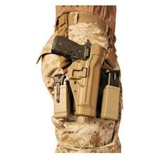 Blackhawk Serpa Magazine Holder Blackhawk SERPA Level 100 Tactical Holster TacticalGear 38