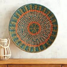 rattan wall decor metal and pier one
